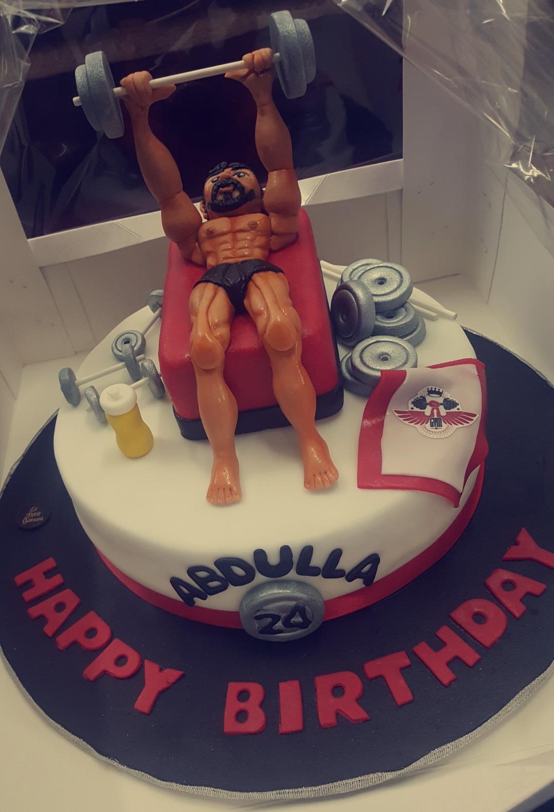 birthday #cake @ Le Petit Gateau - Bahrain