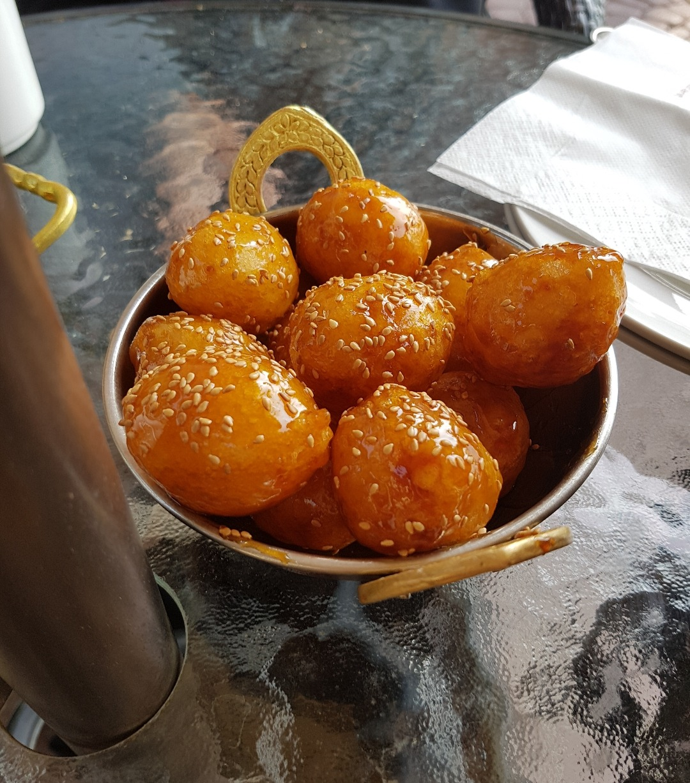 Best Loghaymat ever sooo fresh and delicious @ الأمـيـر - البحرين