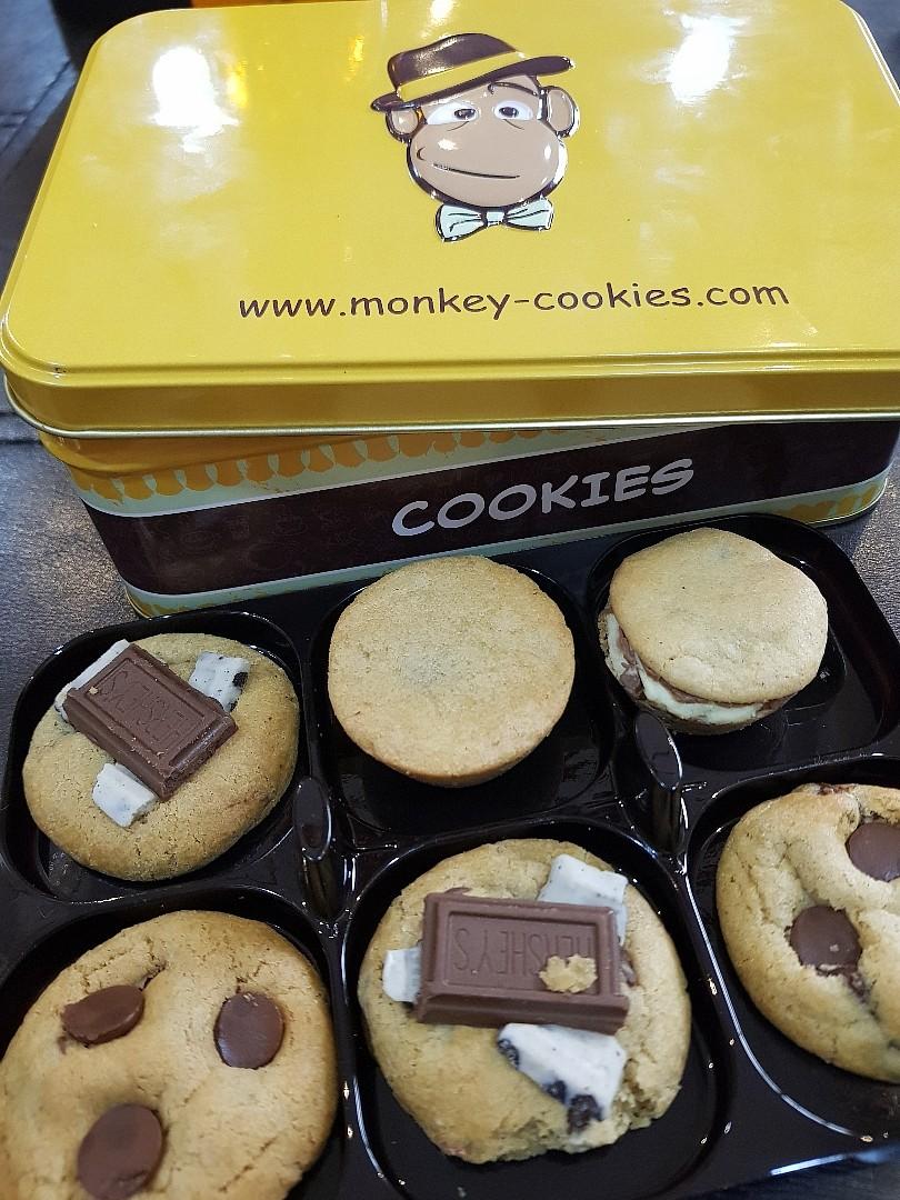 Yummy cookies @ Monkey Cookies - Bahrain