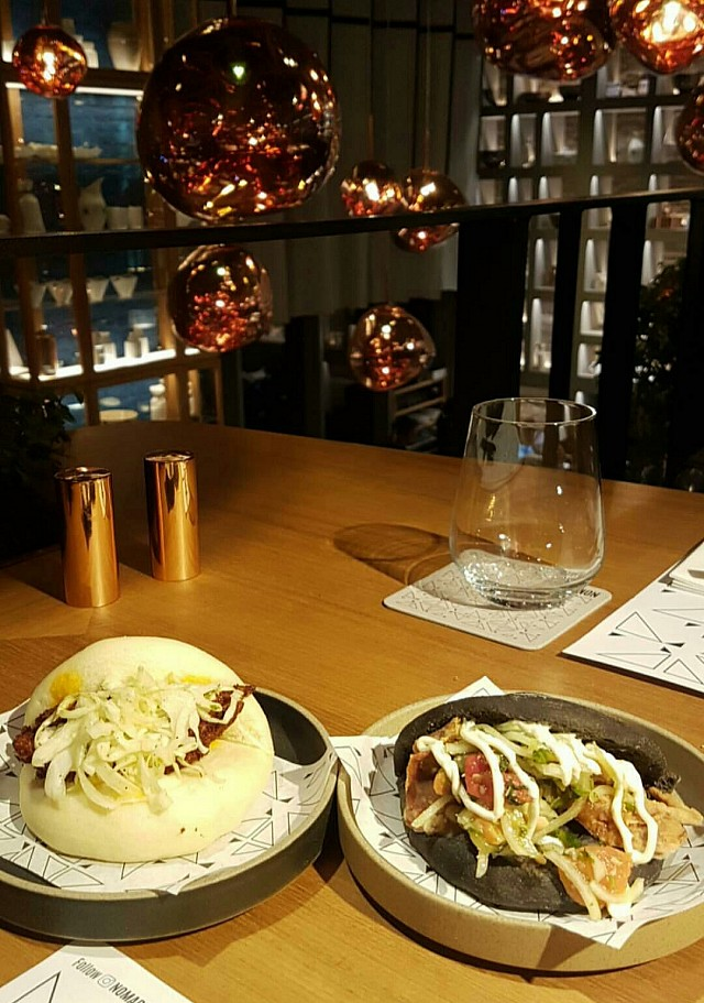 #Chicken Bao and #Crab #Bao
