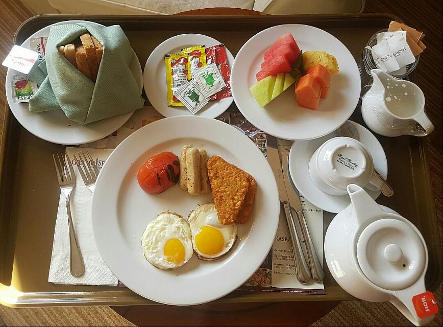 American Breakfast on Christmas