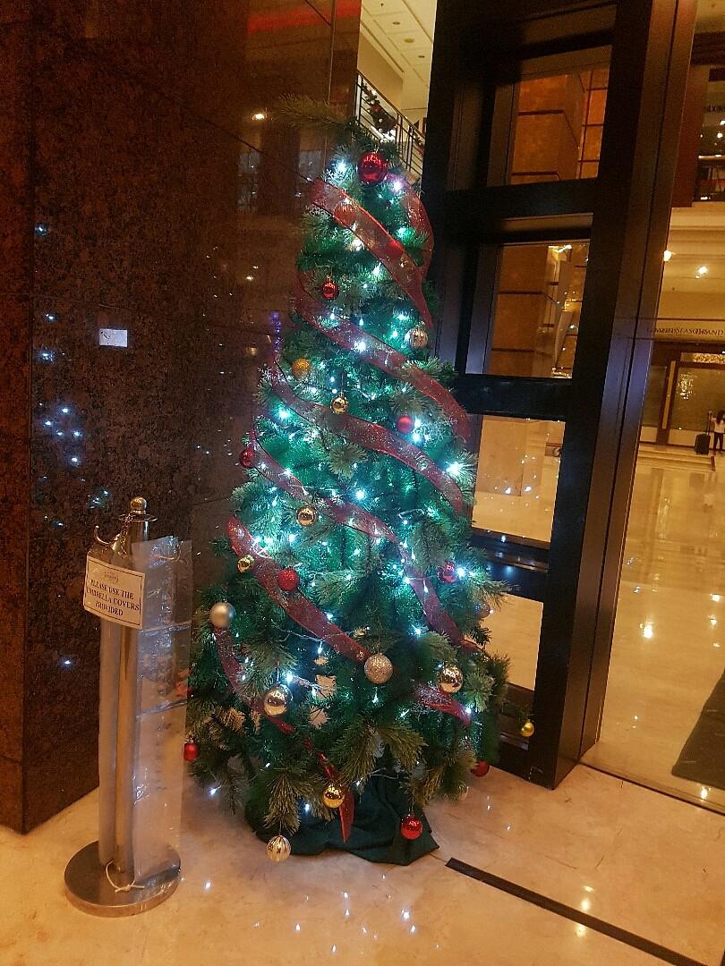 Christmas Tree @ grand season hotel kuala lumpur - Malaysia