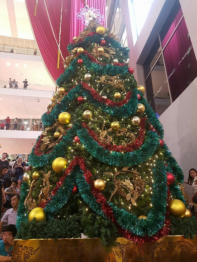 Pavilion Christmas Tree