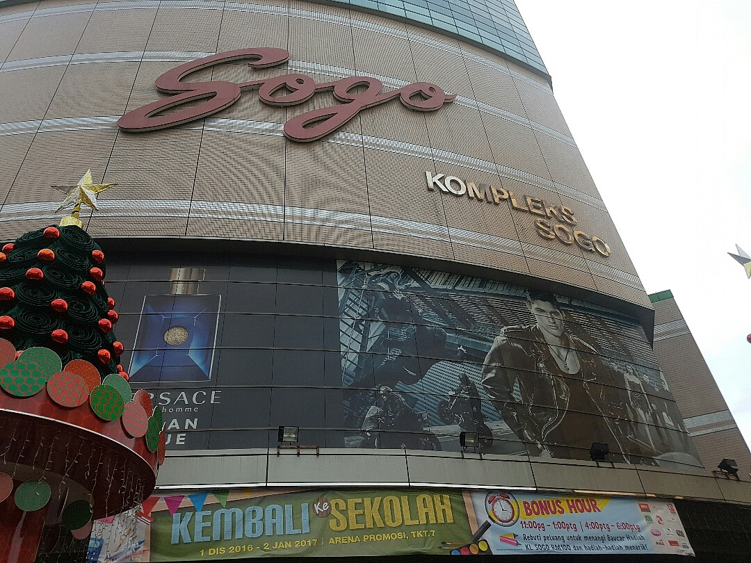 Nice shopping mall specially for kids @ sogo - Malaysia