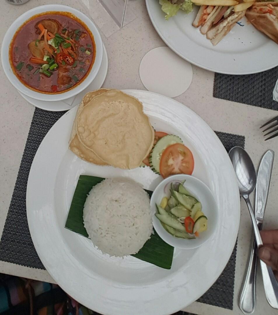 Chicken curry @ Holiday Inn Resort Penang - ماليزيا