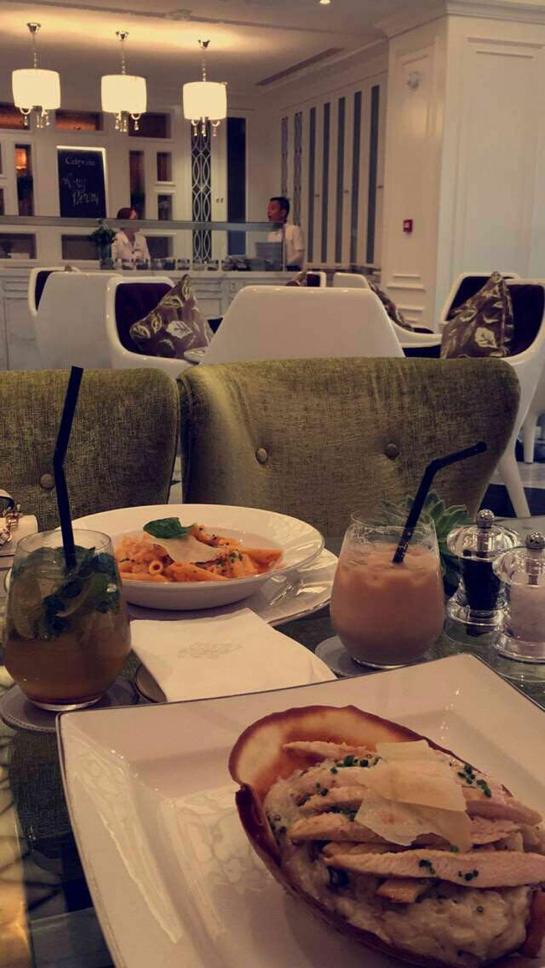 #غدا #باستا #ساش @ Sash Cafe - Bahrain