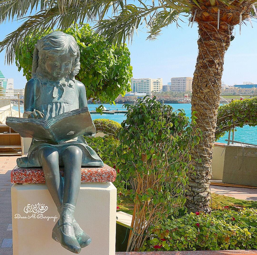 جزيرة الريف فن وحداثة💛  نتطلع الى زيادة عدد الأشجار وفن العمارة في جميع مناطق مملكة البحرين   @ Reef Island - Bahrain