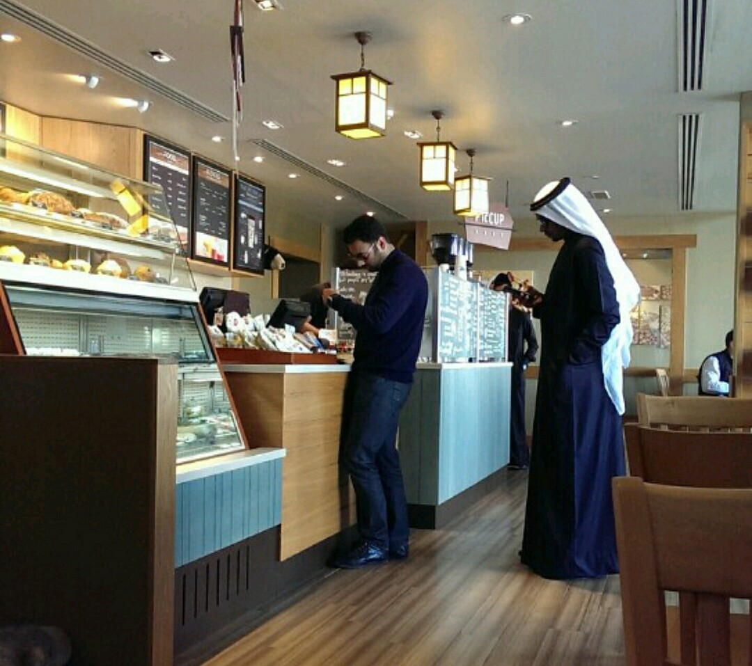 #coffee #shop @ Caribou Coffee - Bahrain