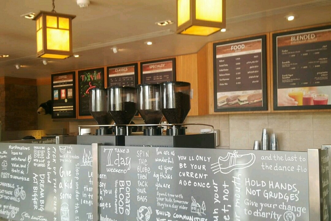 #coffee #shop @ Caribou Coffee - Bahrain