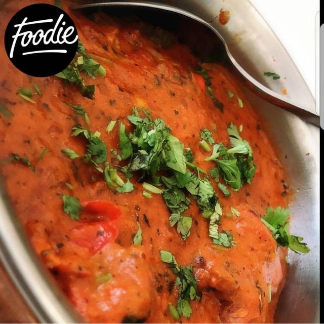 ☄ ~ Dish: Chicken masala 🍗🍛 ~ Place: The yellow line ~ Rate: 10/10 ~ وااايد لذيذ 😋 مضبووووط مع البرياني .. من أفضل المطاعم الهندية ، يستحق التجربة 😍👌