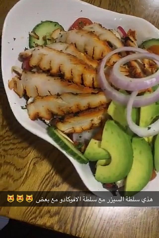 سلطة السيدر مع الافوكادو 😍🤒   @melissas_emporium  #coffee #coffeeshop #bahrain #saar #budaiya_road #cake #café #caffeine #food #con_panna #cappuccino #caffelatte #espresso #cortado #milkshake #homemade #smoothie #juice #croissant #breakfast #lunch #dinner #brunch #south_african #healthyfood #sandwich #pap_wors #bilton