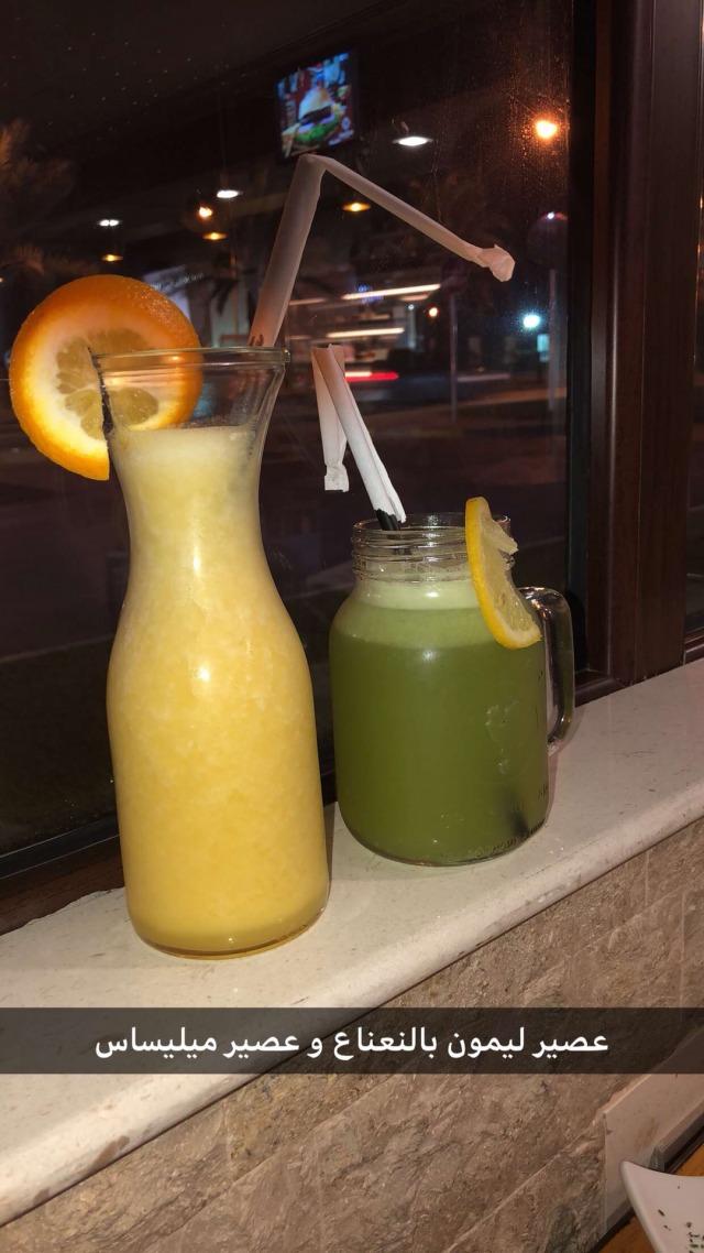 عصير ميليساس وليمون نعناع