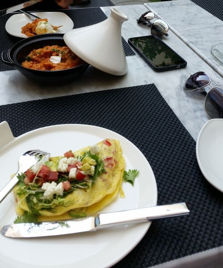 Omelette and Shashouka @ My Cafe - Bahrain