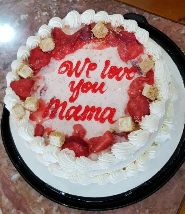 Happy Mother's day #icecream #cake