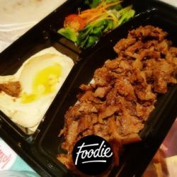 Beef shawarma platter 🍖