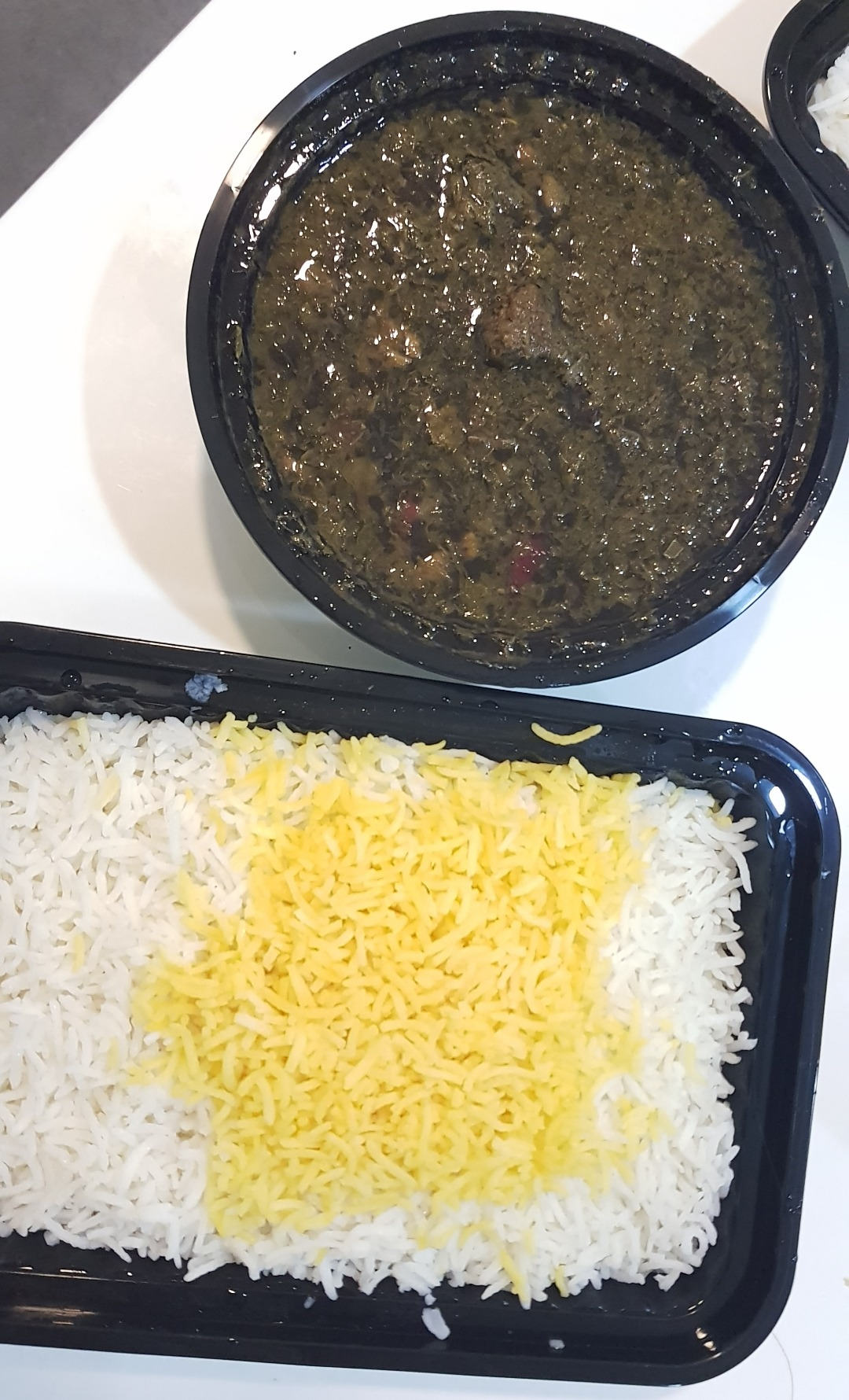 خورشت سبزي 👌😋 @ Tawazo Restaurant - Bahrain