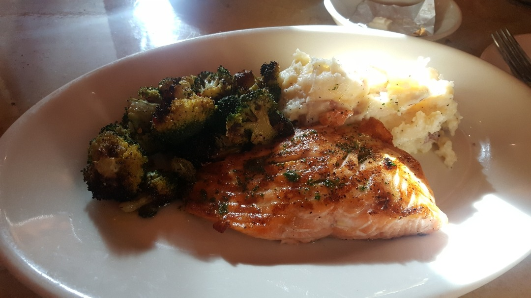 #salmon @ The Cheesecake Factory - Bahrain