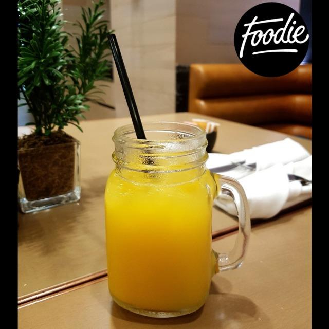 Saffron tonic