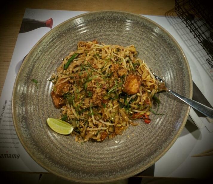 Pad thai @ Wagamama Restaurant - Bahrain