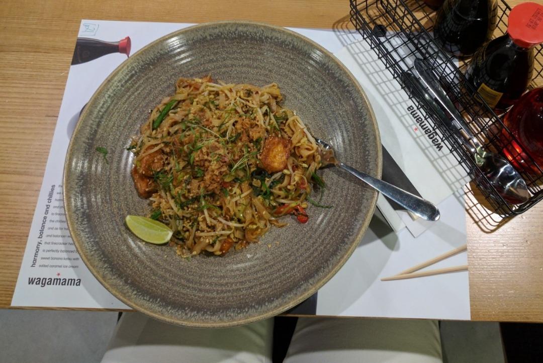 Veg Pad Thai @ Wagamama Restaurant - Bahrain