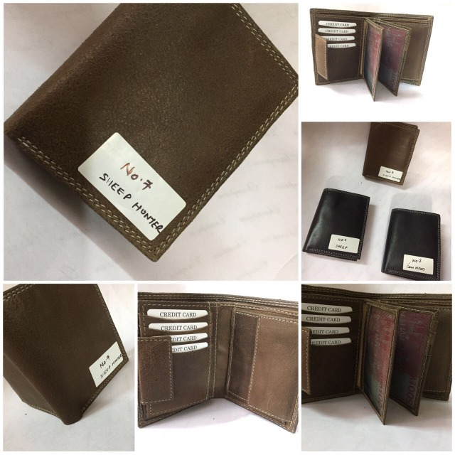 Genuine quality leather wallets