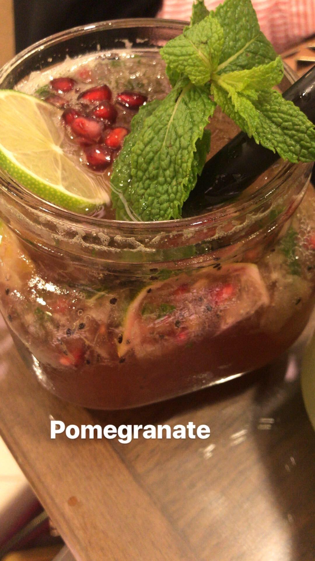 Pomegranate mojito @ Le Petit Restaurant - Bahrain