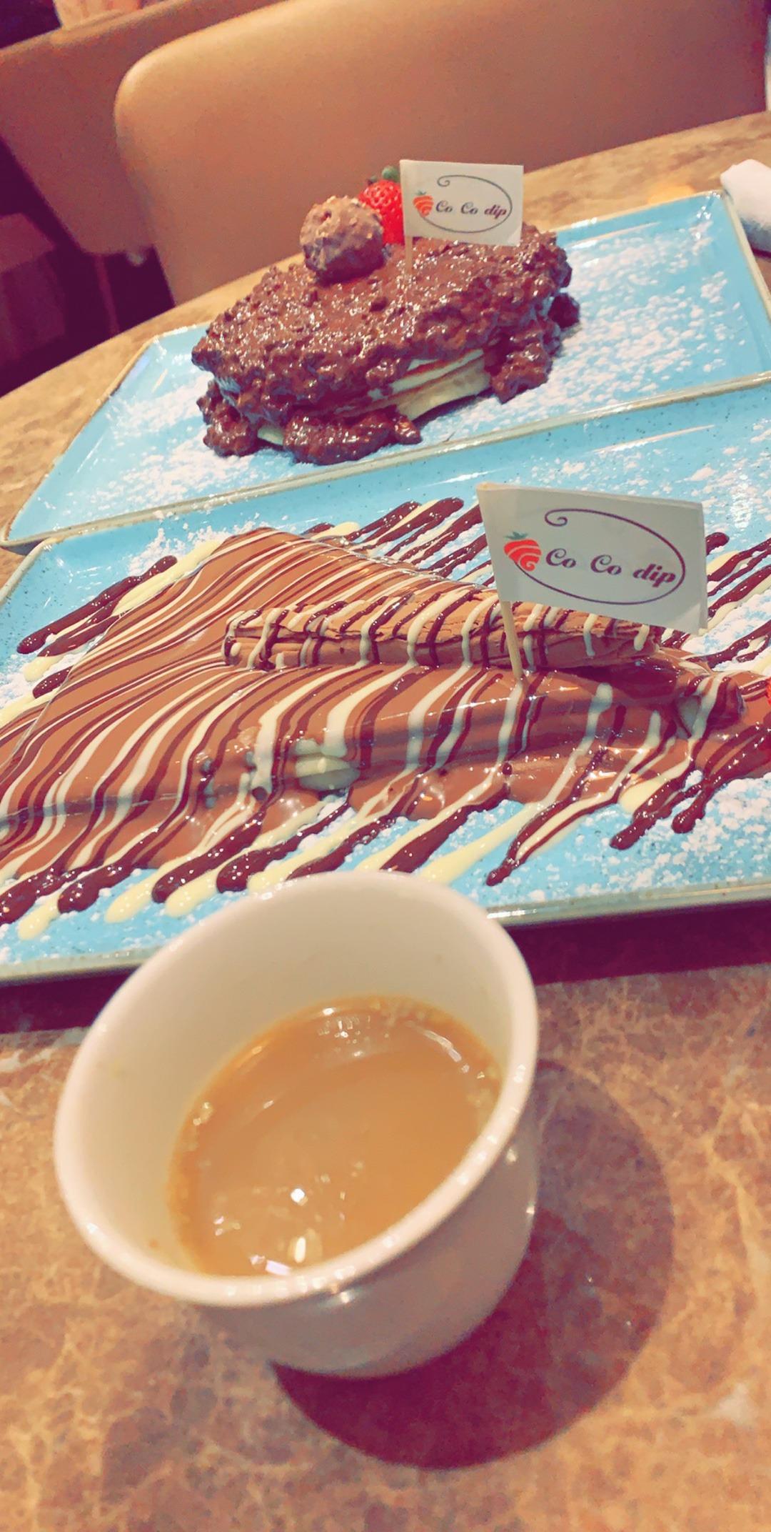 fereroshe  + nutella @ Co Co Dip - Bahrain