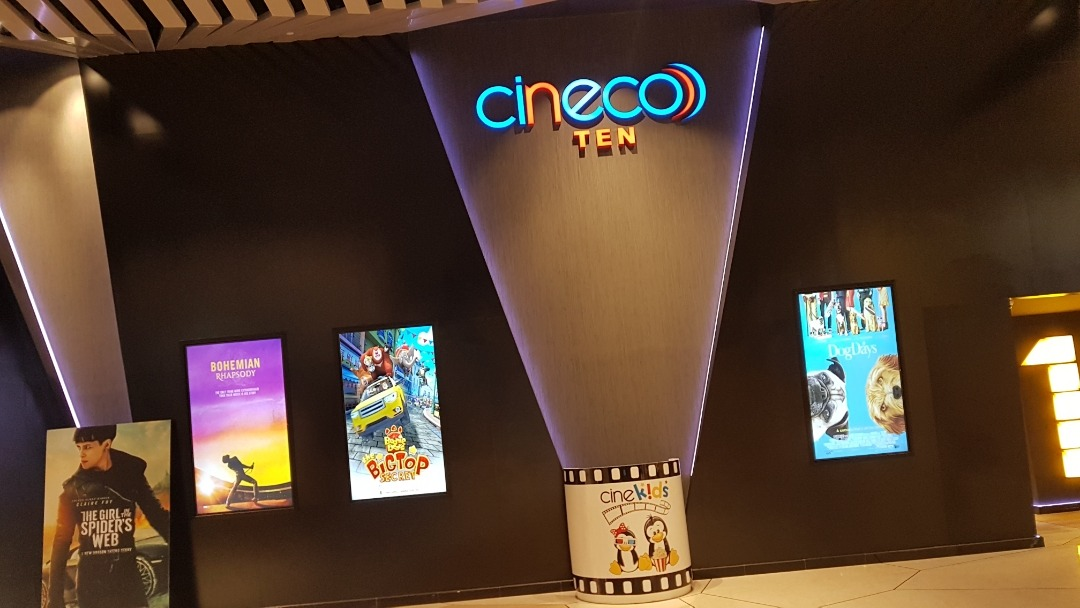 The Oasis Mall Cinemas (Cineco Ten) - Bahrain