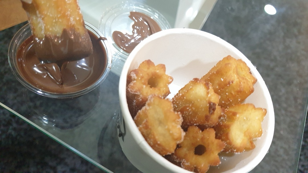 churros � @ Chocology Cafe - Bahrain