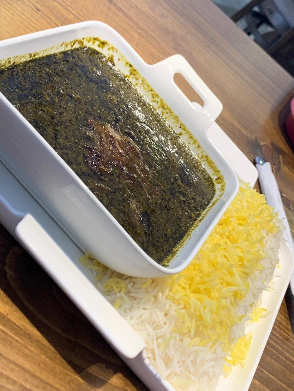 قرمه سبزی @ Shahnameh Restaurant - Bahrain