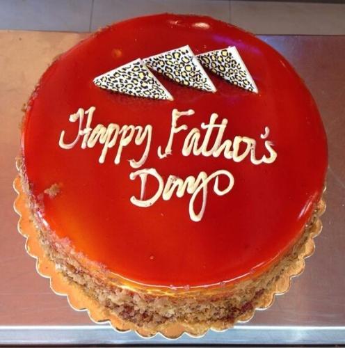 vanilla caramel cake @ Saadeddin Pastry - Bahrain