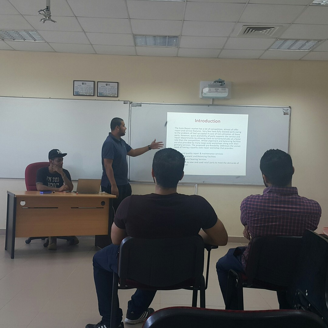 Final project presentation by CSCI532 students @ Ama International University - Bahrain
