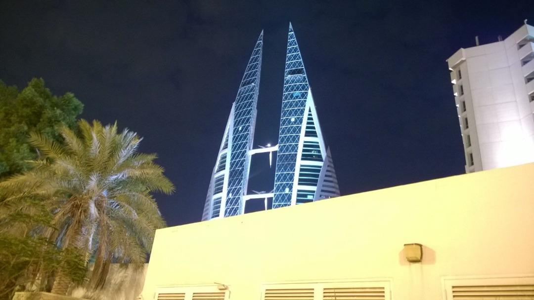 #BWTC #bahrain #night @ Bahrain World Trade Center - Bahrain