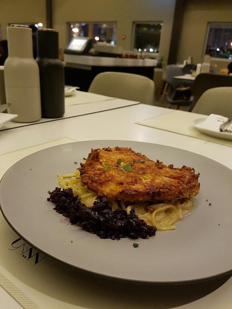 #nino #نينو parmesan chicken @ نينو - البحرين