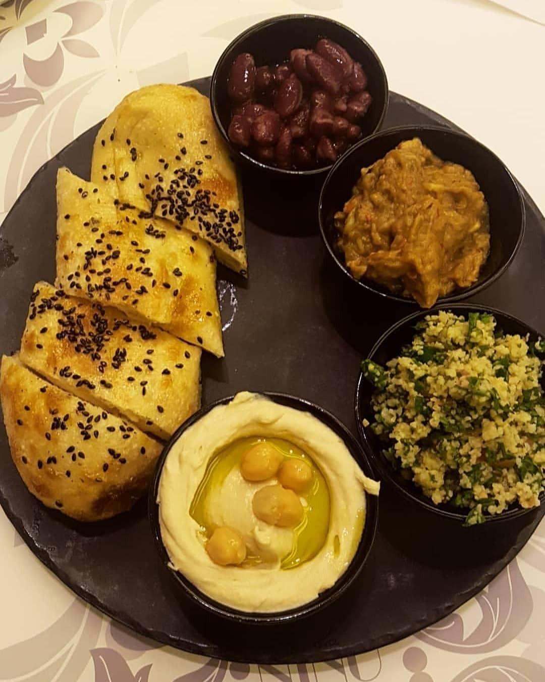 Mezze platter @ Nino - Bahrain