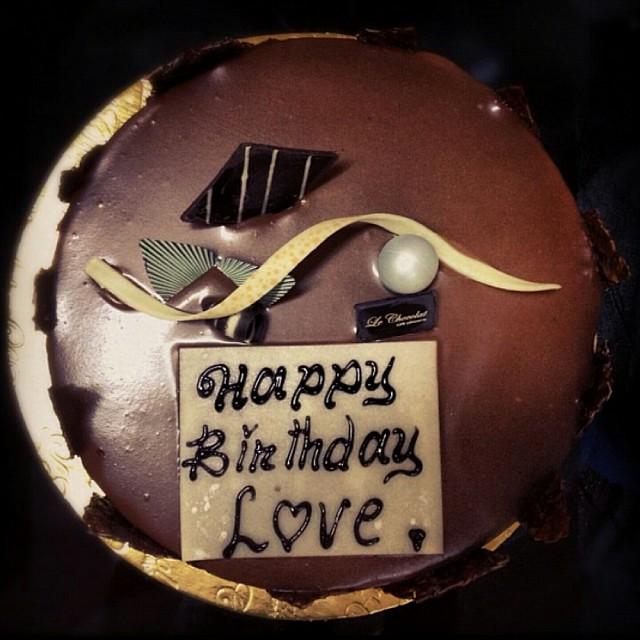 #happy_birthday Yummy #cake