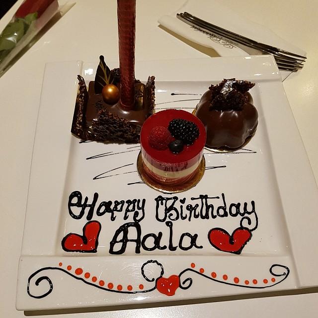 Aala's BD surprise