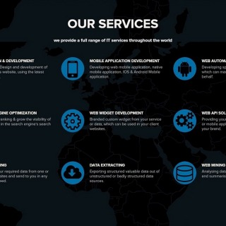 We offer a full range of IT services