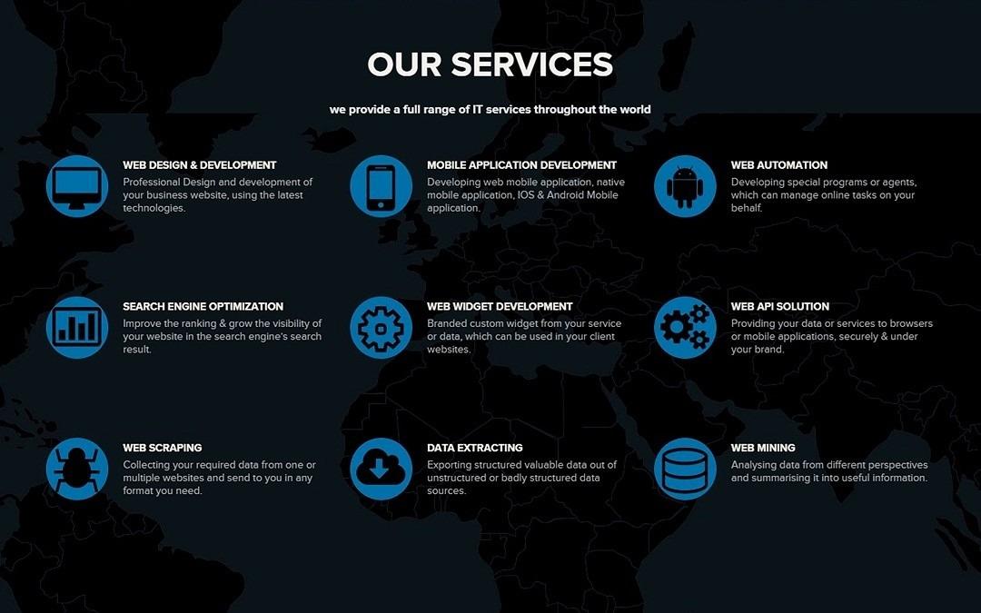 We offer a full range of IT services @ سمانتيك تكنولوجي - البحرين