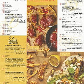 Menu for Bun Bun Express