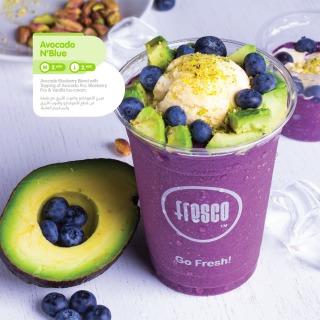 Menu for Fresco Juice Bar & Cafe